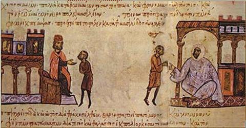 Цар Симеон изпраща пратеници до владетеля на Египетските араби Убайдаллах ал-Махди